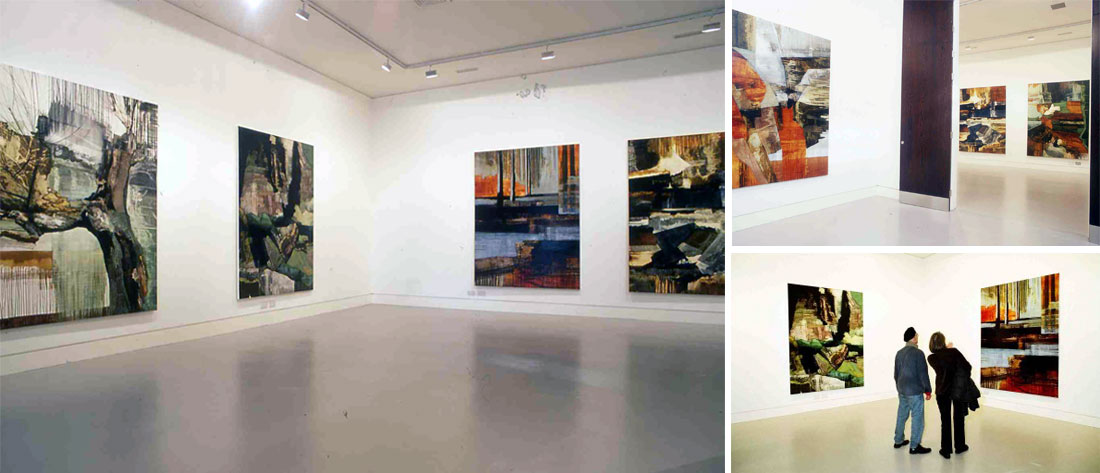 Zoe Benbow's Tectonic exhibition at Cafe Gallery