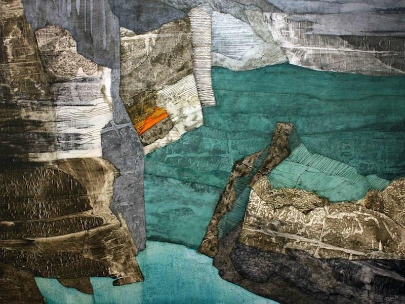 'Ceide' - Oil on Canvas, 122x158cm, 2012 - Zoe Benbow