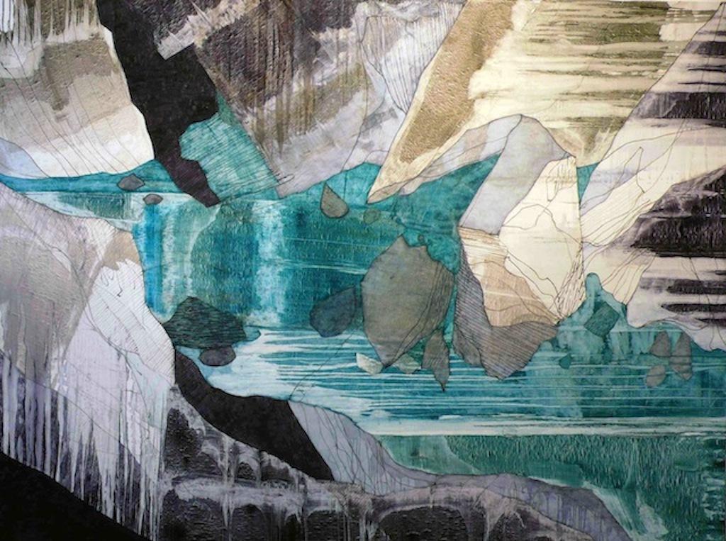 'Children of Lir' - Oil on Canvas, 188x244cm, 2012 - Zoe Benbow