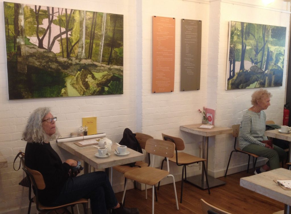 Dorothy's Colour- Poetry Society Cafe May 2018