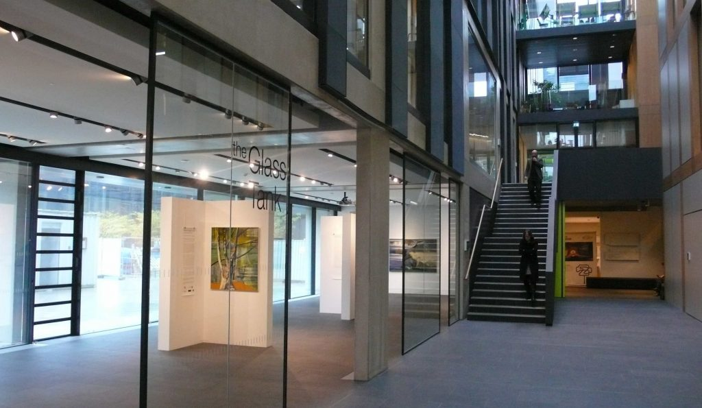 Where We Begin to Look - Gallery Installation - Glass Tank Oxford Brookes 2013